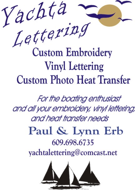 Yacht Lettering
